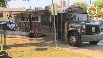 Denton ISD transforms old bus into high-end food truck