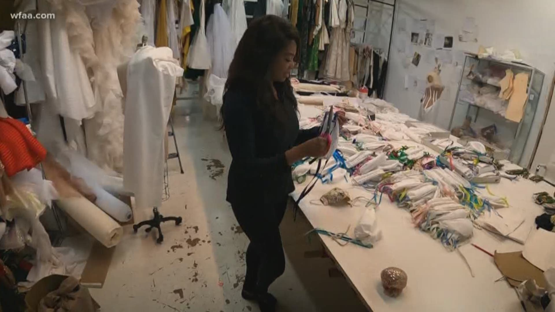 Dallas Fashion Designer Makes Thousands Of Masks For Healthcare Workers Wfaa Com