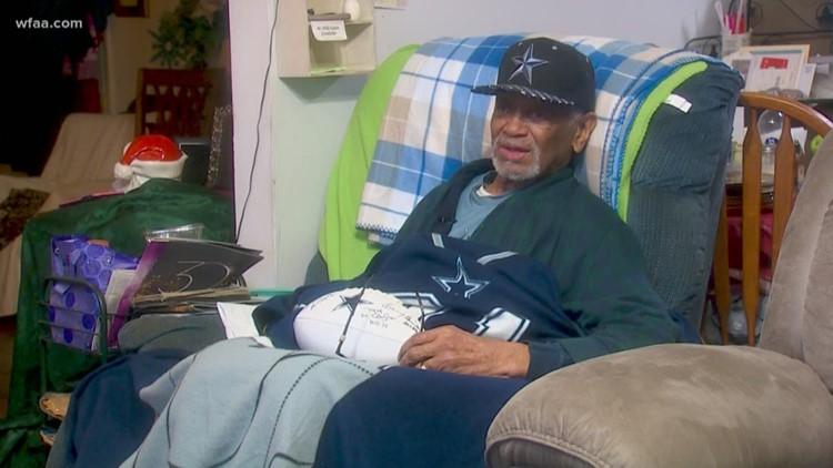 Good Samaritans launch effort to help rebuild 98-year-old veteran's home in Oak Cliff