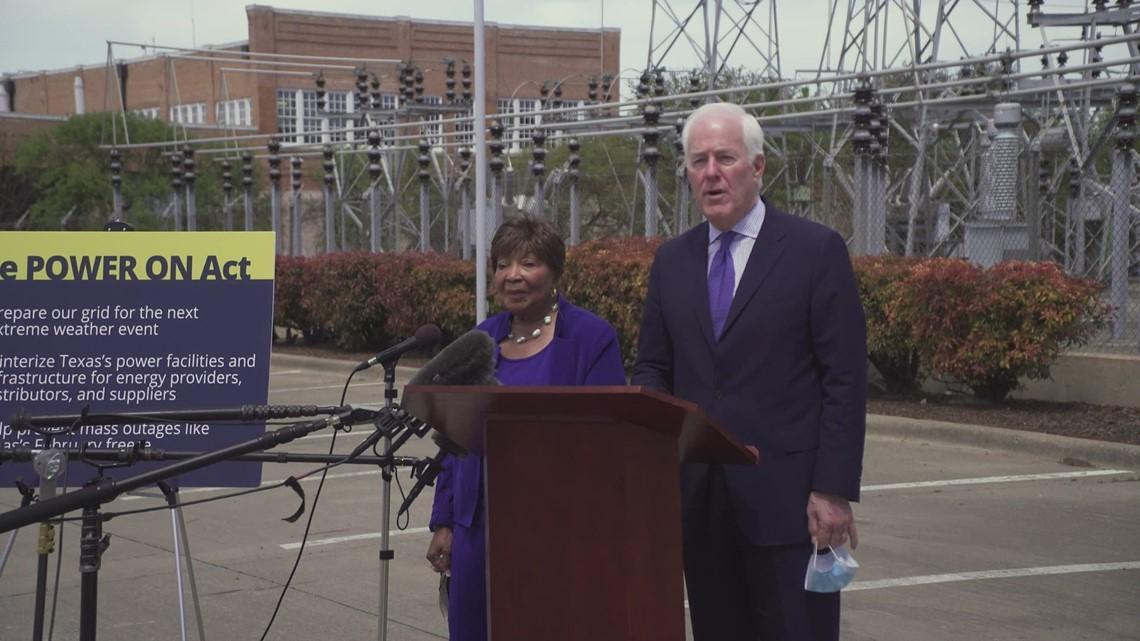 Sen. Cornyn and Rep.  Johnson present bipartisan bill to ensure companies winterize their equipment