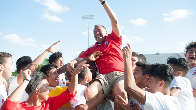 Wife says husband, popular Arlington soccer coach is 'not done fighting,' as he remains in ICU with COVID-19