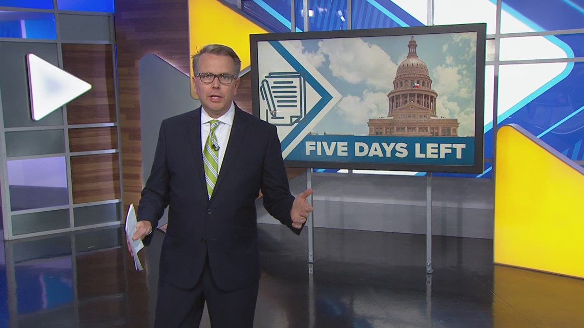 As the last 5 days of this legislative session wrap up, will governor call a special session?