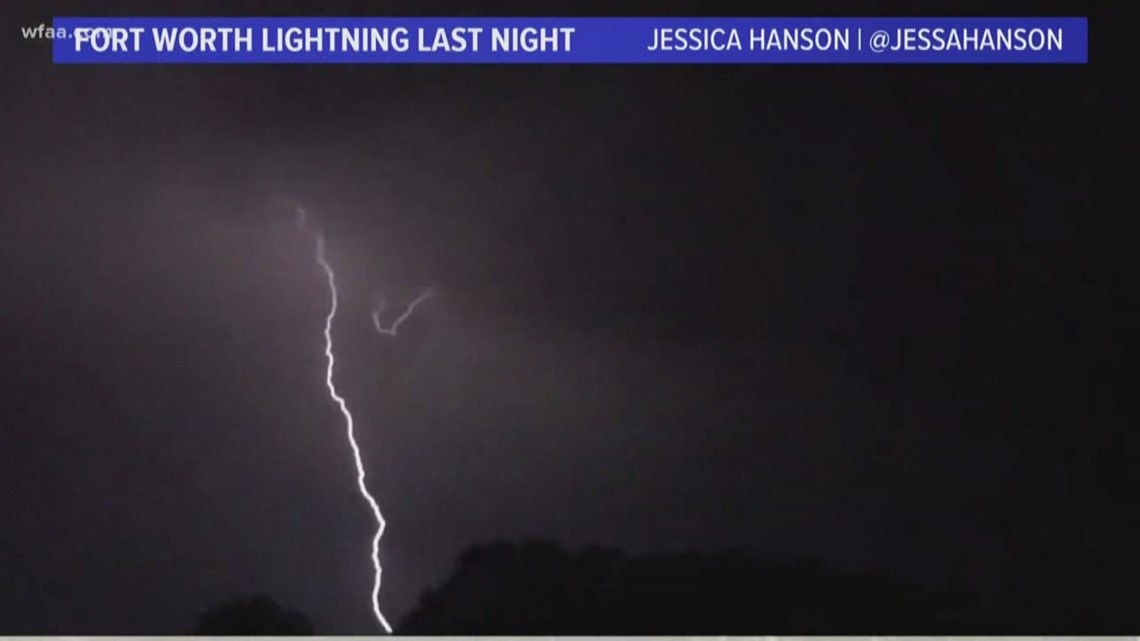 DFW weather: Why were Sunday's storms so electric?