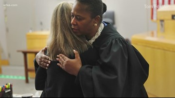 'I gladly gave her a hug. I'm just sorry she had to ask me twice,' judge says of moment with Amber Guyger