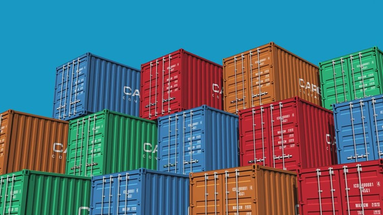 Why are overseas goods stuck in a traffic jam at ports?