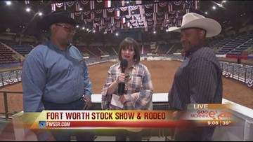 Paige is live at the Fort Worth Stock Show & Rodeo