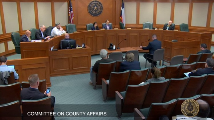 Texas House County Affairs Committee hearing on LaSalle jail deaths