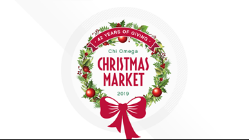 The Chi Omega Christmas Market has plenty of perfect gifts with a bigger purpose