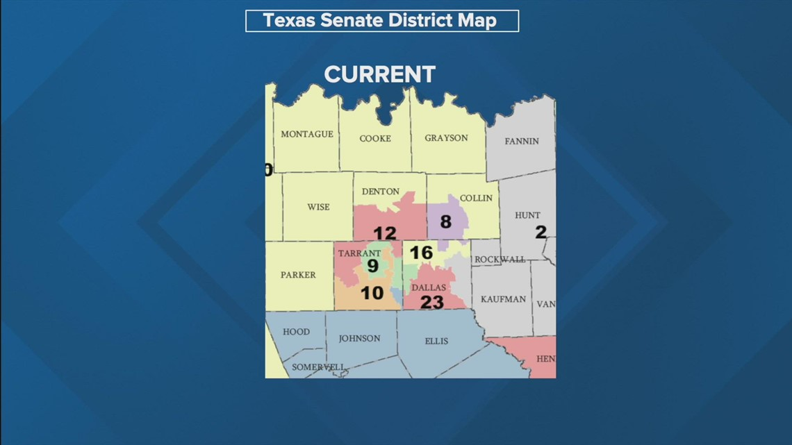Special Session in Texas: What to know about gerrymandering and the proposed district maps in North Texas