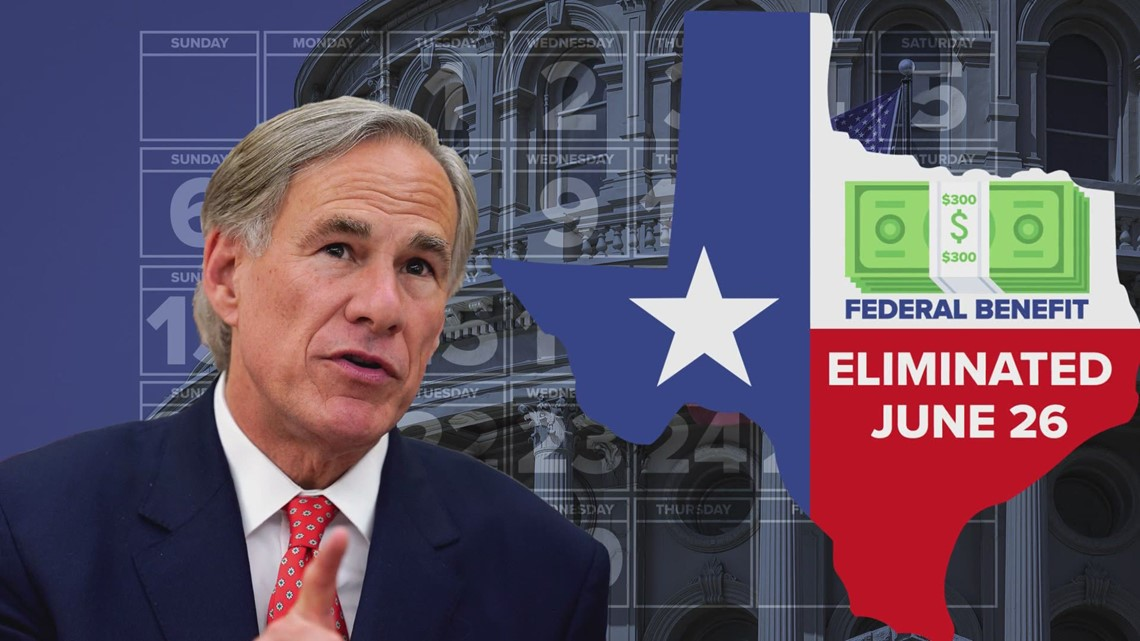 Gov. Abbott ended federal unemployment in Texas to get people back to work. Now, claims for state unemployment are going up