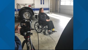 Fort Worth firefighter recalls being struck by car at wreck scene, begs drivers to move over or slow down