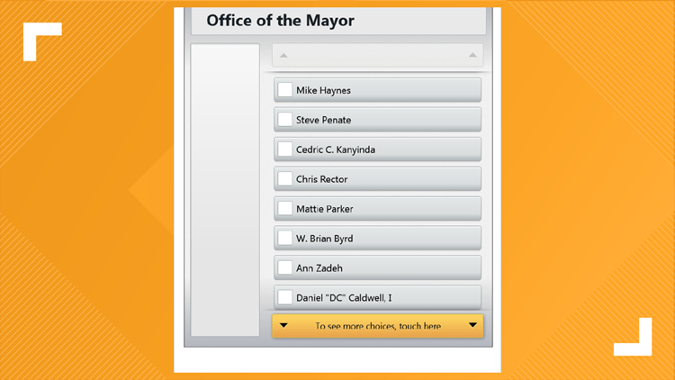 Heads up, Fort Worth voters: You have 2 pages of mayoral candidates to choose from