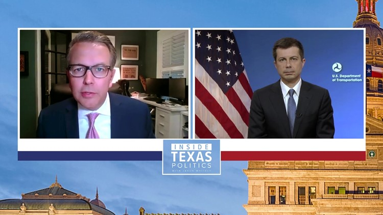 'We see a lot of need in Texas,' Secretary Buttigieg explains pitching Biden's infrastructure plan
