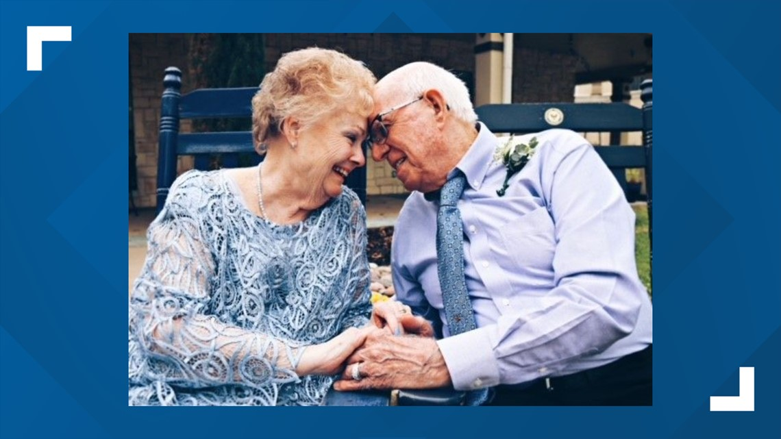 Fort Worth newlyweds fell in love during a game of 'chicken foot' at retirement community