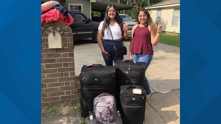 Drawing on his own experience, Dallas man helps college-bound students get luggage