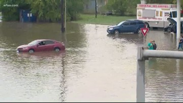 Imelda floods homes, roads in Southeast Texas