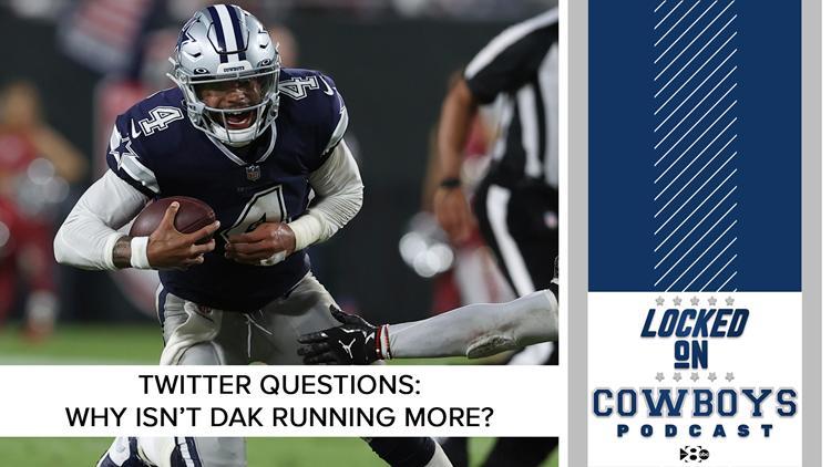 Twitter questions: Why isn't Dak running more? | Locked On Mavericks
