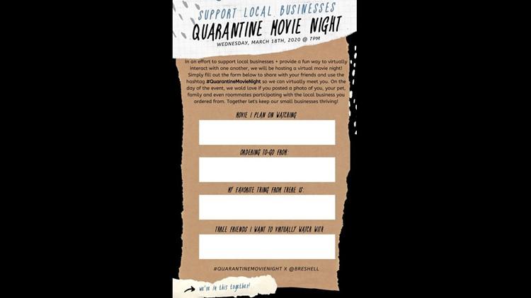 Quarantine Movie Night