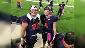 Twins lead McKinney North football to first district title in school history