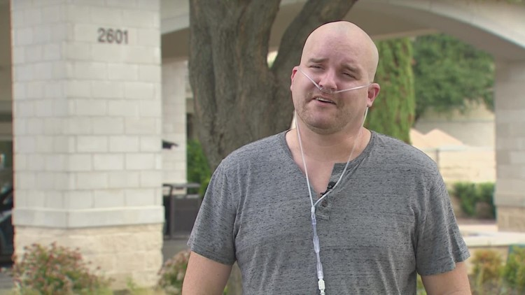 Rockwall man shares COVID-19 hospitalization fight to encourage others to get vaccinated