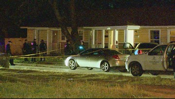 Suspect at large after man dead, child seriously injured in South Dallas shooting