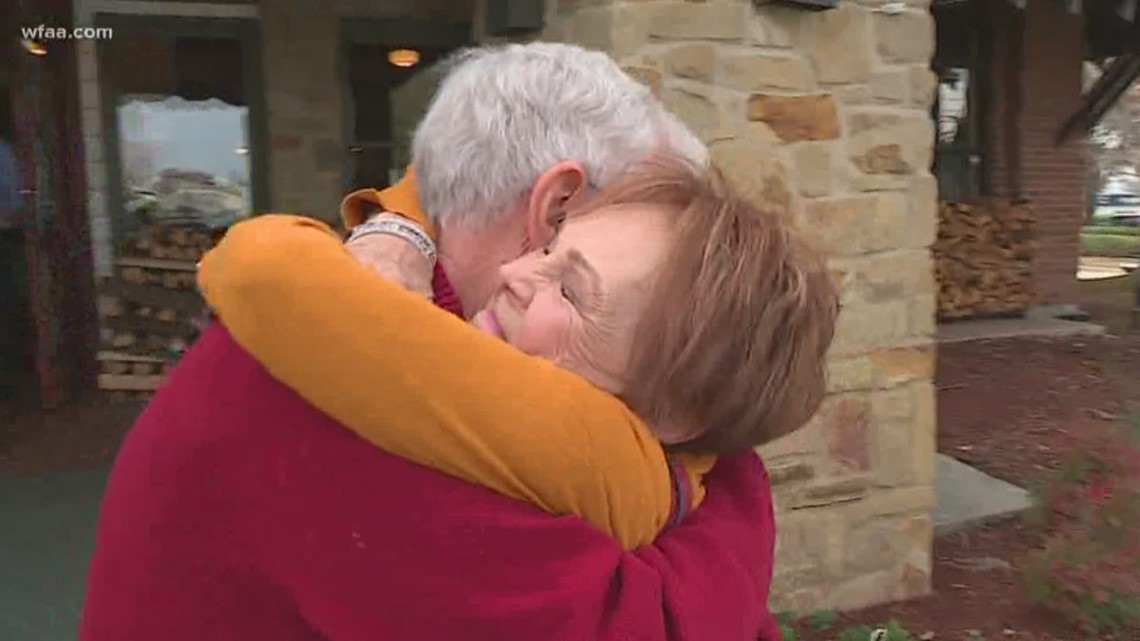 A happy reunion: Man finds sister 70 years later through DNA testing kit