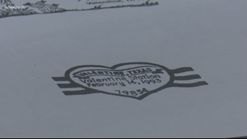 In the name of love: The Valentine, Texas postmark