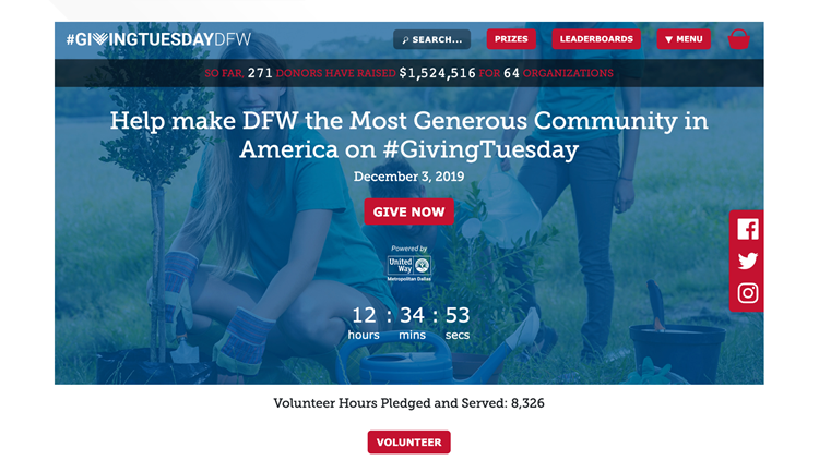 Giving Tuesday DFW