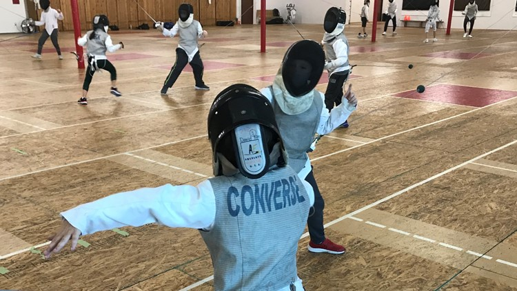 In Olympic year, fencing in North Texas gets its moment