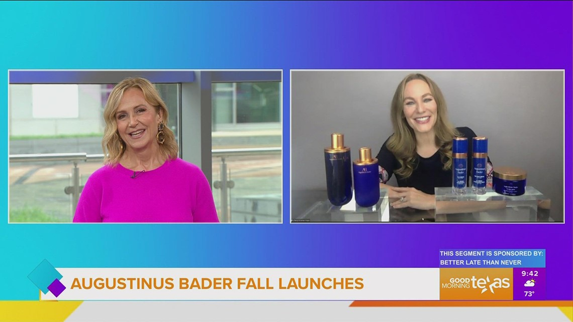 Augustinus Bader launches two new skincare products for Fall