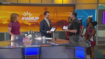 Southwest High School in Fort Worth surprises Daybreak anchor Marc Istook