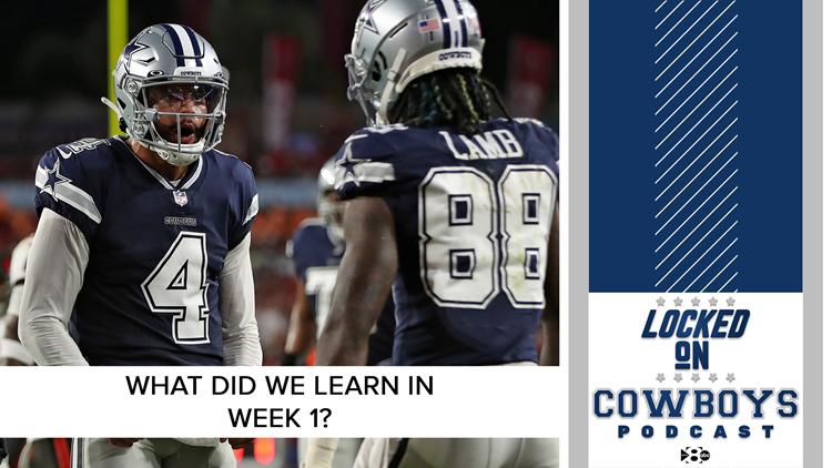What did we learn in week 1? | Locked On Cowboys