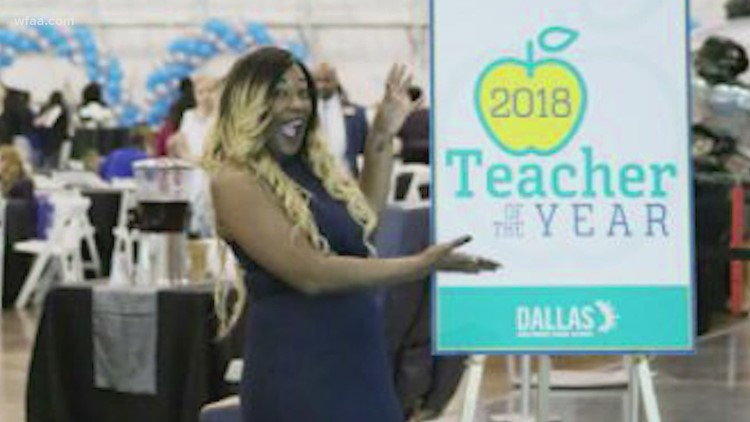 Popular Dallas ISD science teacher recognized on World Teachers' Day