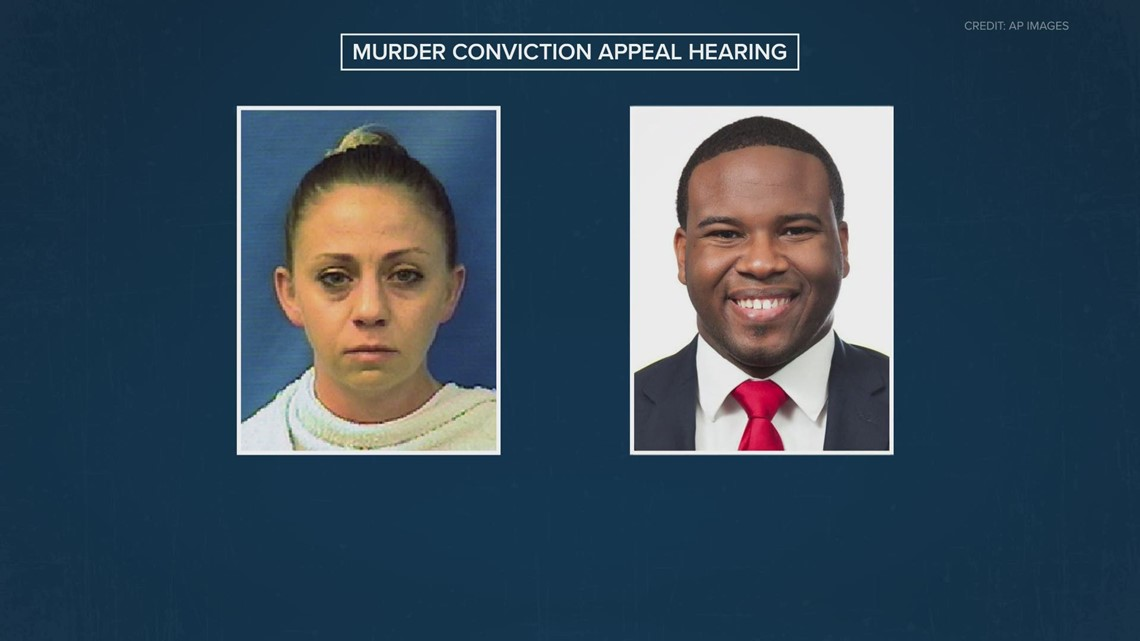 What to know about Amber Guyger's murder conviction appeal hearing
