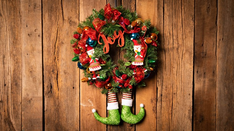 At Home Wreath