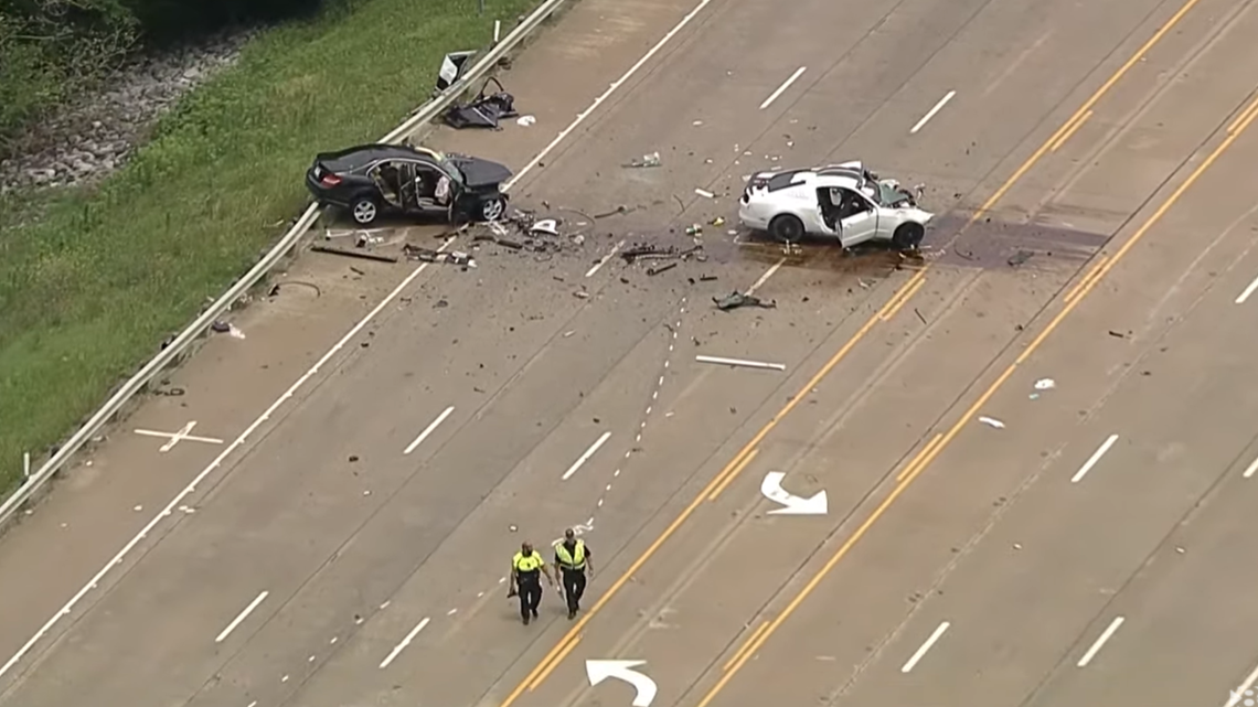 2 Children, 1 Adult Killed, 3 Seriously Injured in Head-On Crash on US 380, Denton Police Say; Highway Shut Down