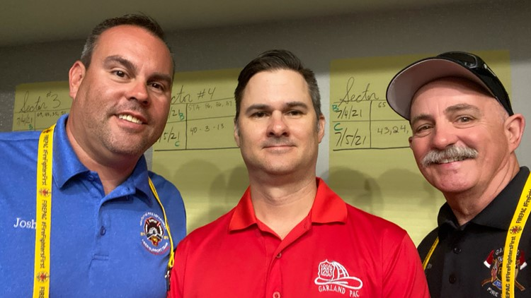 3 North Texas firefighters  return home after providing mental health support at Surfside condo collapse