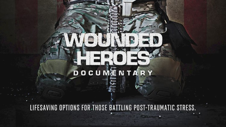 Documentary 'Wounded Heroes' looks at treatment options for veterans, first responders struggling with PTSD