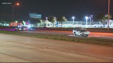 Westbound I-20 closed at Matlock in Arlington