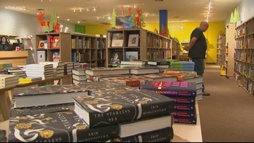 Bookstore damaged by October tornado reopens one month later