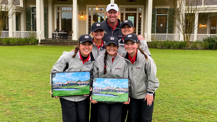Division II program DBU wins tournament against Division I teams by 27 strokes