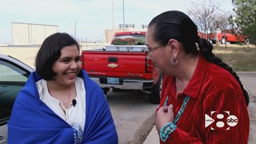 'I finally found somewhere I belong': Teen in foster care finds connection to her roots at Pow Wow