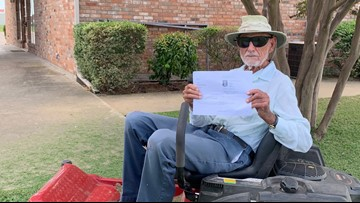 95-year-old without a birth certificate finally gets his driver's license renewed