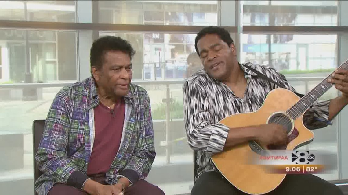 charley pride and his son dion