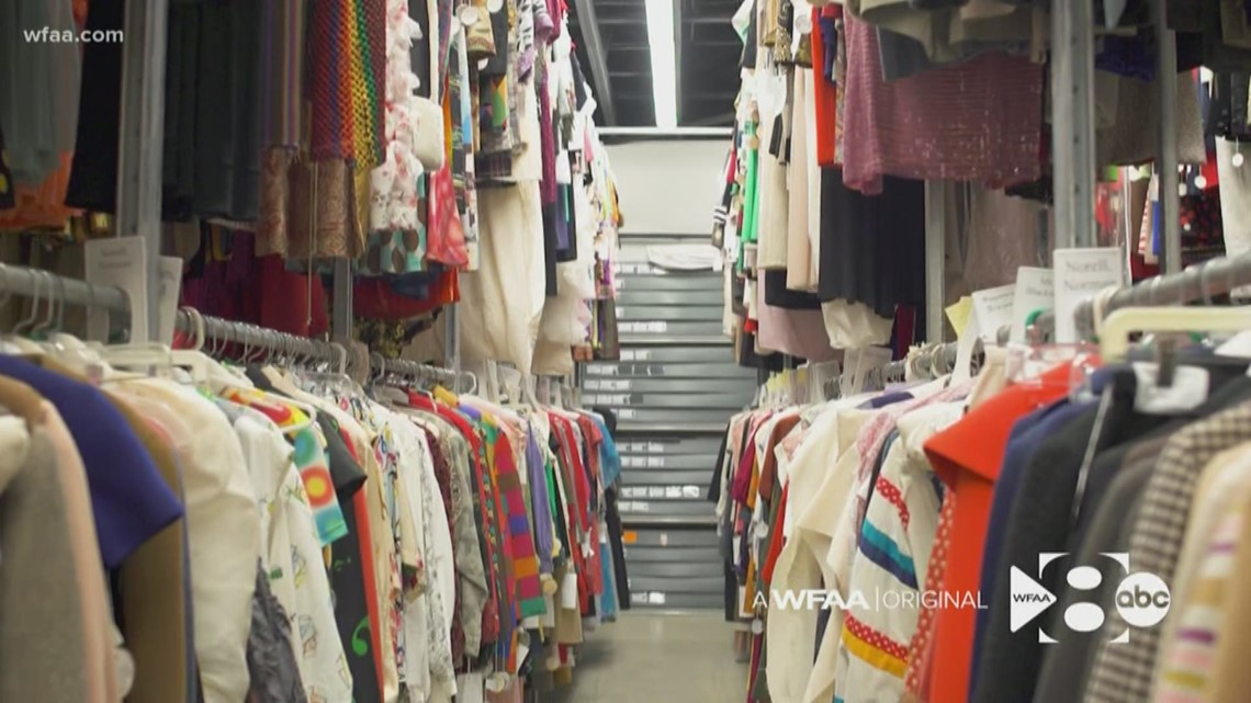 Where a closet full of fashion history hangs in North Texas