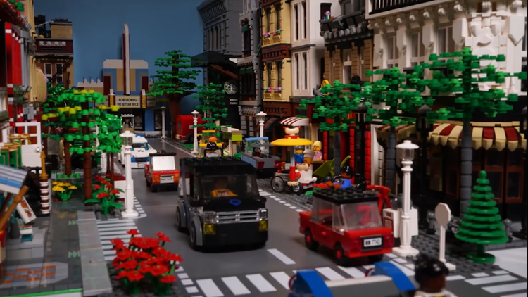 City of Arlington's Lego town video explaining budget goes viral