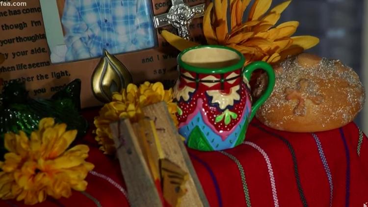 Ofrendas for Dia de Los Muertos