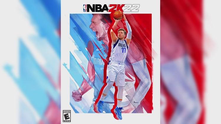 Luka Dončić, Dirk Nowitzki make cover of 'NBA 2K22' video game