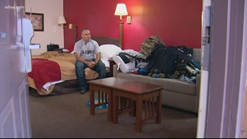'Here I am, a soldier, and I have to ask for help': Wise County Army vet now homeless after floodwaters consume house
