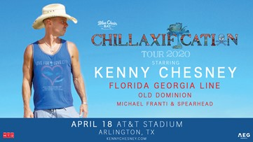Kenny Chesney Chillaxification Ticket Giveaway